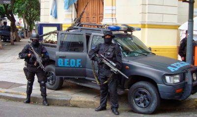 REFORZARAN LA SEGURIDAD EN EL CONURBANO CON GRUPOS DE ELITE