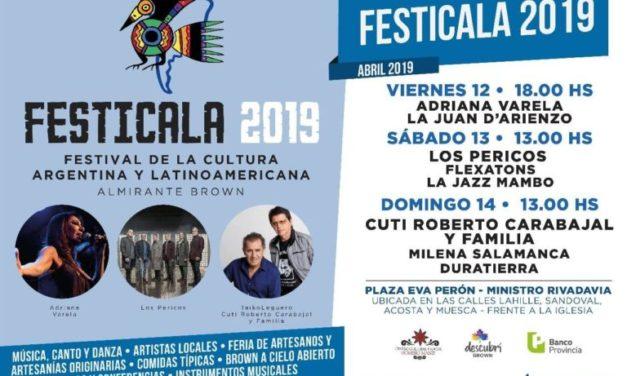 FESTICALA 2019 ESTE FINDE EN ALTE BROWN