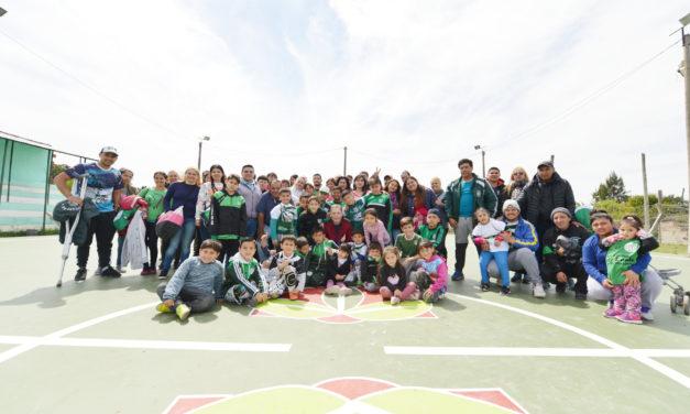 FERNANDO GRAY VISITÓ CLUBES DE LUIS GUILLÓN