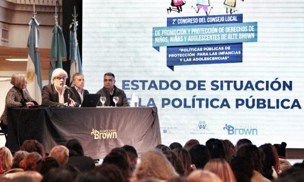 ALMIRANTE BROWN REALIZÓ EL II CONGRESO LOCAL DE NIÑEZ Y ADOLESCENCIA