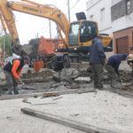 AVANZA EL PLAN DE BACHEO Y REPAVIMENTACIÓN PARA TERMINAR EL PRIMER MANDATO CON 1600 CUADRAS MEJORADAS