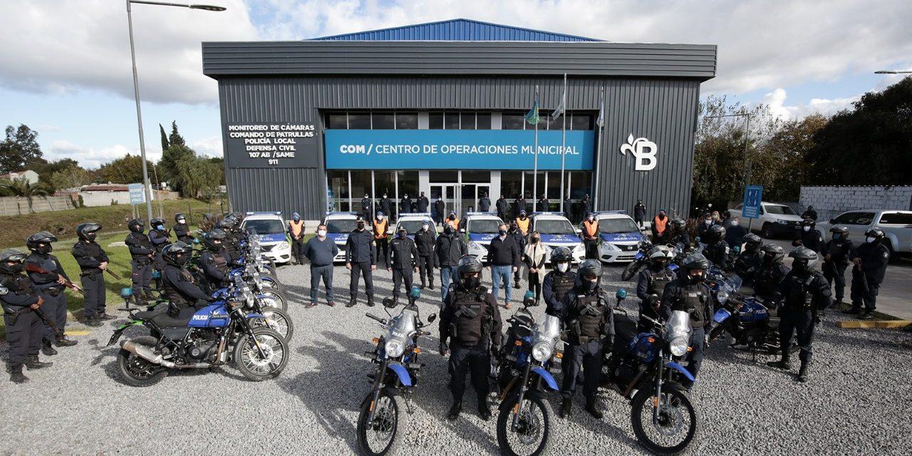 SUMAN 15 MOTOS Y MÓVILES POLICIALES PARA LA PREVENCIÓN DEL DELITO EN ALTE BROWN