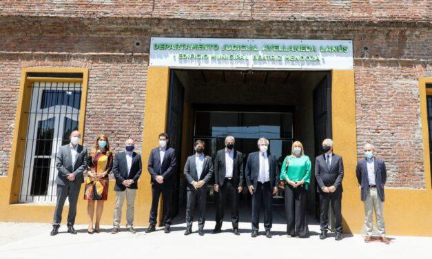 ALBERTO FERNANDEZ INAUGURO EL DEPARTAMENTO JUDICIAL DE AVELLANEDA
