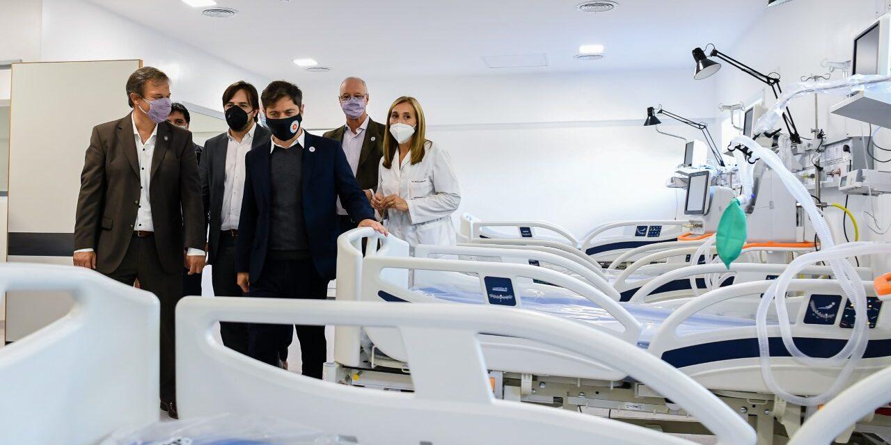 KICILLOF Y  CASCALLARES RECORRIERON OBRAS EN EL HOSPITAL OÑATIVIA