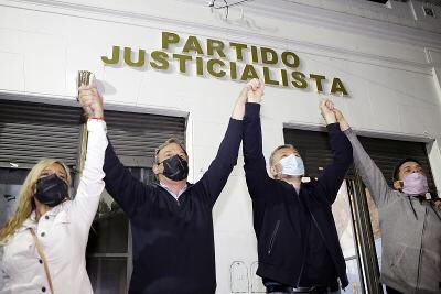 PASO2021, EN BROWN SE IMPUSO EL FRENTE DE TODOS