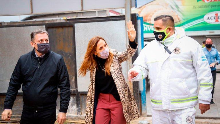 FERNANDO GRAY JUNTO A VICTORIA TOLOSA PAZ RECORRIERON PYMES DE ESTEBAN ECHEVERRÍA